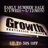 EARLY SUMMER SALE - Growth skateboard elements