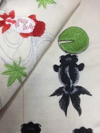 出目金ちゃん - ソライロ刺繍