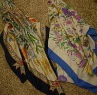 Gucci Floral scarf - carboots