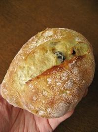 オリーブ入りチャバタ - slow life,bread life