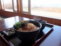 ヒラメの漬け丼:お食事処 ドライブイン汐風(鯵ケ沢町) - 津軽ジェンヌのcafe日記