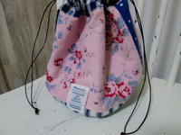 シャビーピンク色のサマーブロッサム柄アンティークファブリック - LeCaretteルキャレット アトリエの日々のこと