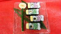 飾り巻き寿司ワークショップ - 日本料理しみずや 気ままな女将通信