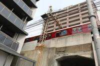鶴橋から細工谷に向かう道すがら - 新世界遺産への道~撤去前収集活動~