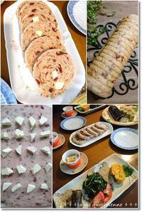 桜餡と緑茶のケーキと【焼き納め】クランベリーと桜のクリチラウンドパン - 素敵な日々ログ+ la vie quotidienne +