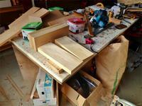 丸太の加工台作りをしました - 浦佐地域づくり協議会のブログ