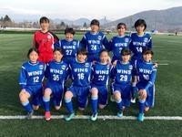 メグミルクカップ:初日結果 - 横浜ウインズ U15・レディース