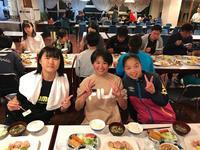 メグミルクカップ:5/3夕食 - 横浜ウインズ U15・レディース