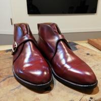 【John Lobb London】掘り出し物のジョンロブビスポークシューズ染め替え② - Shoe Care & Shoe Order 「FANS.浅草本店」M.Mowbray Shop