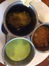 インド料理とインドサリー - ダイアリー
