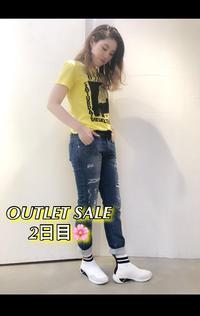 OUTLET SALE 2日目!! - UNIQUE SECOND BLOG