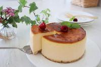 水切りヨーグルト使用でとろけるチーズケーキ - おうちカフェ*hoppe