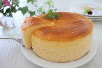 またまたスフレチーズケーキ - おうちカフェ*hoppe