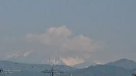 5月4日、我が家の駐車場から見た富士山です - 難病あっても、楽しく元気に暮らします(心満たされる生活)