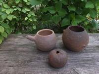 楽しい植木鉢と花器・二人展~6(記録用) - アオモジノキモチ