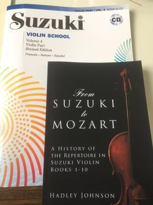 教本をゲット - 大人ですがバイオリン始めました