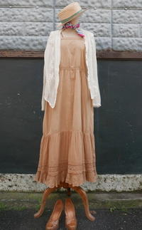 French Lace antique dress - carboots