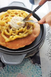 ■GW中のお茶タイムに【自家製ヨーグルトでホエーパンケーキ作り】 - 「料理と趣味の部屋」
