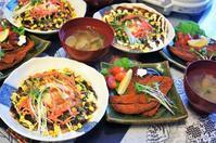 ■GW3日目の朝ご飯【我が家特製お好み焼き/娘夫婦からフィッシュカツ/アサリと姫皮のお吸い物】 - 「料理と趣味の部屋」