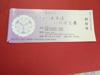 華道一生本流いけばな展へいってきた。 - 質素で素敵なマンションライフ  日本文化を満喫しつつ生涯働くことを目指しています。