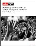 民主主義度ノルウェー1位、日本22位 - FEM-NEWS