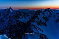 夜明けの大キレット - moroyanのドタバタ夜景日記