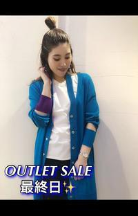 OUTLET SALE3日目!!最終日です!! - UNIQUE SECOND BLOG