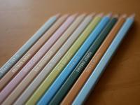 500色もの色鉛筆 - 勉強、畑、ときどき野球