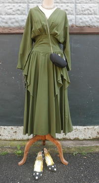 Party Dress Olive - carboots