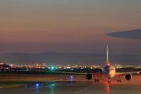 今年最初の夜遊び~旭川空港~ - 自由な空と雲と気まぐれと ~from 旭川空港~
