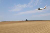 砂漠出現~旭川空港~ - 自由な空と雲と気まぐれと ~from 旭川空港~