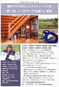 6/15&16ノーズワーク合宿開催のお知らせ - Scent Line Blog