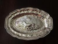 Valenti シルバープレートレリーフ楕円皿158 - スペイン・バルセロナ・アンティーク gyu's shop