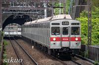 田園都市線の8500系 8606Fを撮る! - sakuoのフォトブログ