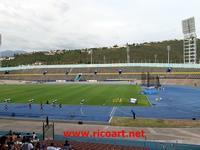 ナイキ・シニア・リンカップ陸上大会 - ジャマイカブログ Ricoのスケッチ・ダイアリ