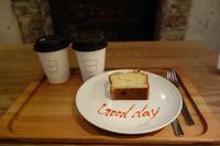ロンハーマンカフェでバナナケーキ - *のんびりLife*