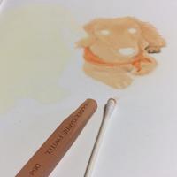 ミニチュアダックスフンドを描き始めました - デザインのアトリエ絵くぼ
