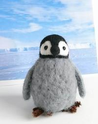 5月14日(火)コルトンワークショップ5月 ★羊毛フェルトのペンギンを作ろう - いちかわ手づくり市実行委員会        http://www.ichikawatezukuri.com/