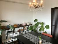お部屋の模様替えとペストリーレッスン - カフェ気分なパン教室  ローズのマリ