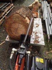 薪割り台の使い心地 - 海ぼうずのエコエゴ日記