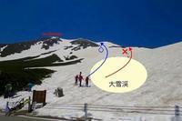 乗鞍岳BCの規制ロ-プ張り。その②・・・ - 乗鞍高原カフェ&バー スプリングバンクの日記②