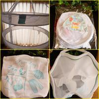 3COINS 『セーター干しネット』&『3POCKETSランドリーバッグ』 - 埼玉カルトナージュ教室 ~ La fraise blanche ~ ラ・フレーズ・ブロンシュ