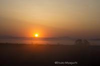 平成最後の朝日 - ekkoの --- four seasons --- 北海道