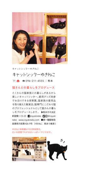 雑誌anan(アンアン)にゃんこLOVE掲載猫 ぎゃぉすてぃぁらあんしゃぁりぃめりぽぴんず編。 - ゆきねこ猫家族