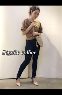 限定入荷商品「Dignite collier ディニテコリエ」Tシャツ♪ - UNIQUE SECOND BLOG