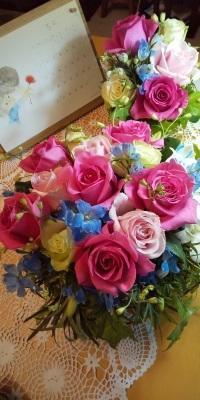 薔薇の微笑み🌹☘️ - Flower ID. DESIGN