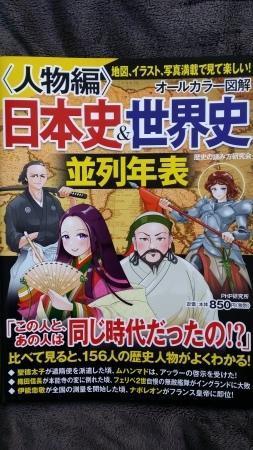 読書シリーズ『人物編日本史&世界史並列年表』 -