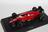 1/64 Kyosho Ferrari F1 F1-89 1989 - 1/87 SCHUCO & 1/64 KYOSHO ミニカーコレクション byまさーる