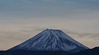 5月9日、我が家の駐車場から見た富士山です - 難病あっても、楽しく元気に暮らします(心満たされる生活)