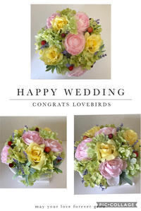 結婚お祝い - Rico 花の教室